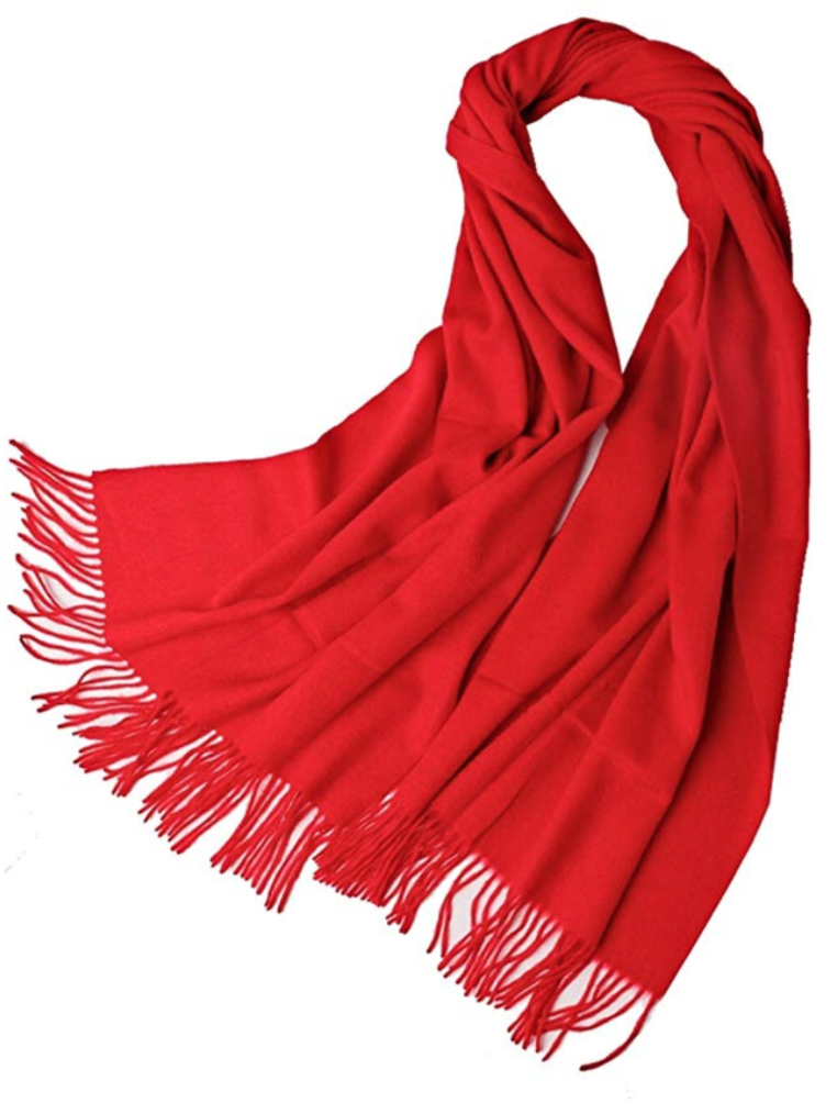 EVORI SCARF MODEL F181604 (RED)