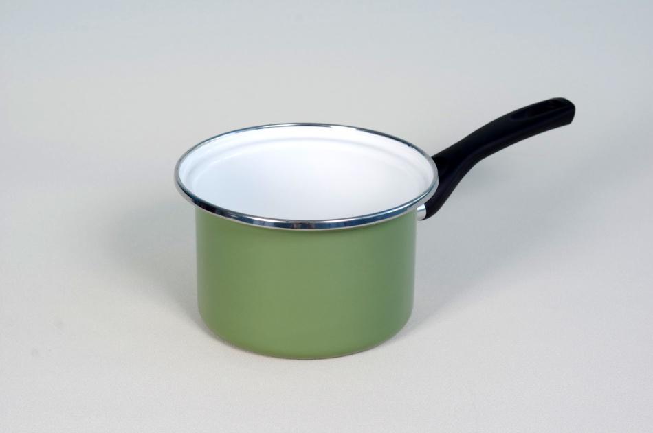 Ковш стальной эмалированный цветной