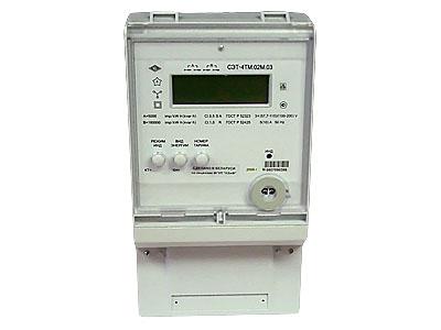 Счетчик электроэнергии СЭТ-4ТМ.02.