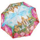 Зонт женский 1724-5 DAIS 3 слож с/а сатин Plaza de Espana
