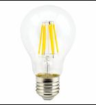 Ecola candle LED 3,3W 220V E14 4000K прозрачная свеча искристый трилистник (металл. радиатор) 110x35
