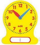 Часы демонстрационные магнитные